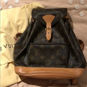 Louis Vuitton Montsouris Backpack PM